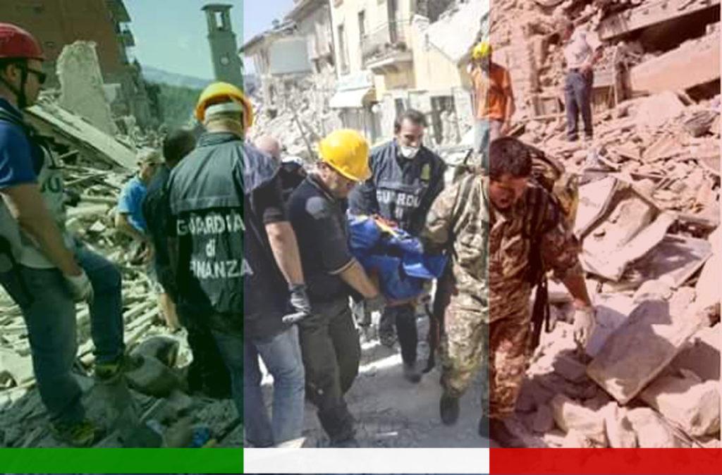 terremoto volontari