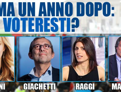 SONDAGGIO: ROMA UN ANNO DOPO, CHI VOTERESTI