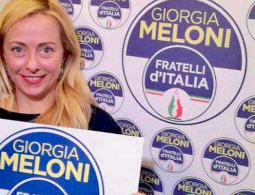 FRATELLI D'ITALIA PRESENTA IL LOGO UFFICIALE PER IL 4 MARZO