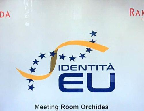 MILANO – IDENTITA' EU, UNA GIOVENTU' EUROPEA CON UNO SGUARDO AL FUTURO