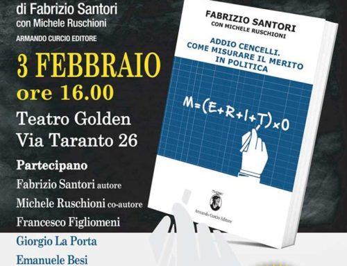 SABATO 3 FEBBRAIO – PRESENTAZIONE DEL LIBRO 'ADDIO CENCELLI' DI SANTORI E RUSCHIONI