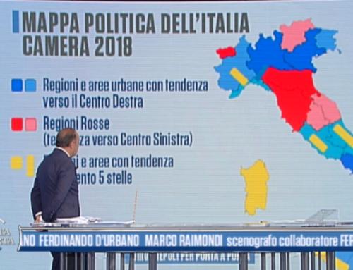 SONDAGGI POLITICHE: L'ITALIA AZZURRA DI VESPA FA TREMARE PD E 5 STELLE