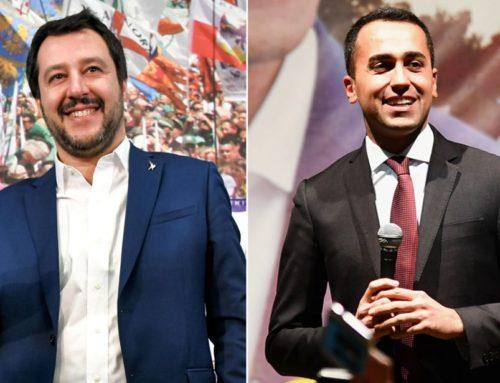 SALVINI CHIAMA DI MAIO E CHIUDE AL PD : PROVE TECNICHE DI ACCORDO