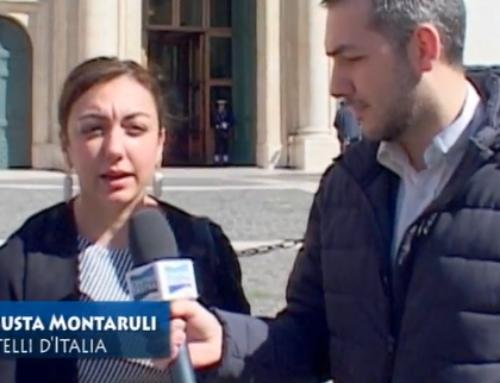 L'INTERVISTA (VIDEO) AD AUGUSTA MONTARULI DI FRATELLI D'ITALIA