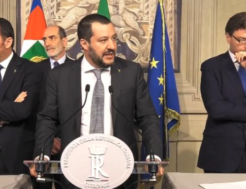 SONDAGGI: GLI ITALIANI VOGLIONO SALVINI PREMIER