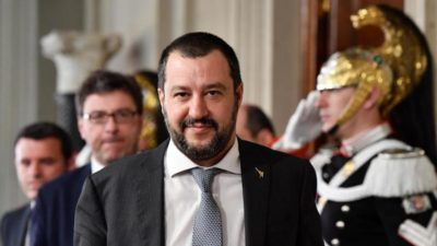 Governo Conte - Salvini all'Interno