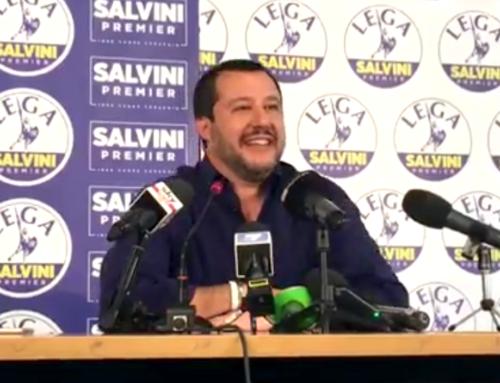 SALVINI: PRONTI A PRENDERCI RESPONSABILITA' DI GOVERNARE
