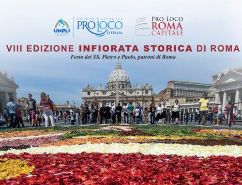 SS. PIETRO E PAOLO: A ROMA L' INFIORATA STORICA
