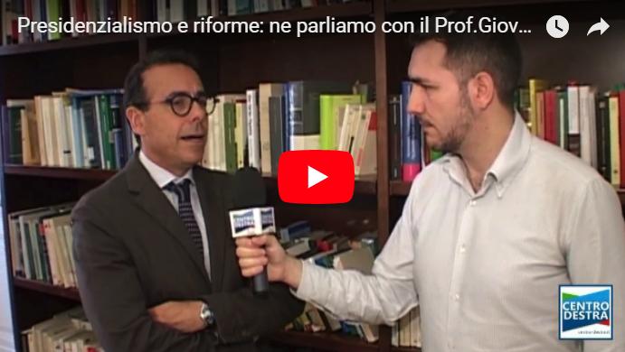 presidenzialismo riforme intervista guzzetta