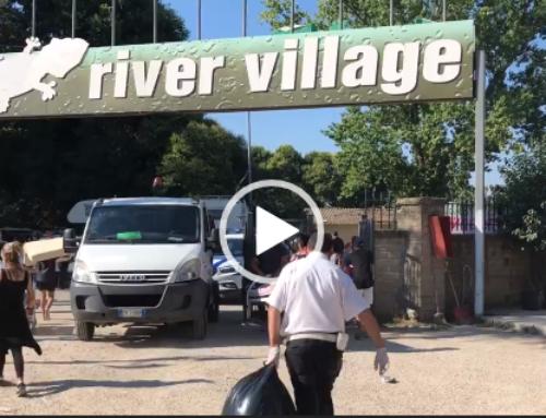 SGOMBERATO DAI ROM IL CAMPING RIVER A ROMA. IL VIDEO DELLE OPERAZIONI