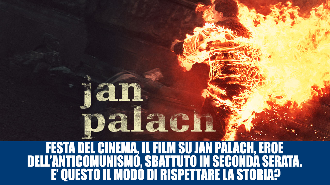 FESTA DEL CINEMA, IL FILM SU JAN PALACH SBATTUTO IN SECONDA SERATA
