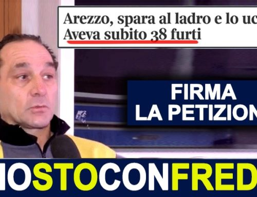 IO STO CON FREDY- FIRMA LA PETIZIONE ONLINE