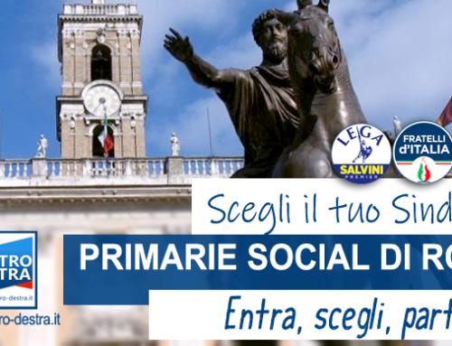 CAMPIDOGLIO: AL VIA LE PRIMARIE SOCIAL DI CENTRODESTRA PER IL SINDACO DI ROMA