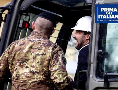 SALVINI: 491 BENI CONFISCATI ALLA MAFIA VERRANNO RICONSEGNATI AGLI ABITANTI DI ROMA E DEL LAZIO