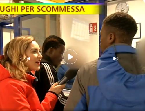 STRISCIA SMASCHERA I PROFUGHI CHE SCOMMETTONO I SOLDI DEL POCKET MONEY – IL VIDEO