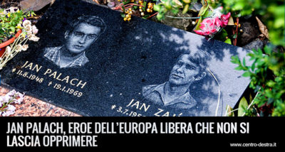 Jan palach l'eroe dell'europa libera