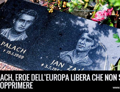 50 ANNI FA IL SACRIFICIO DI JAN PALACH, EROE DELL'EUROPA LIBERA CHE NON SI LASCIA OPPRIMERE