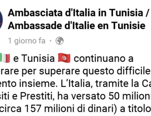 50 MILIONI ALLA TUNISIA, ADESSO TREMANO CONTE E DI MAIO