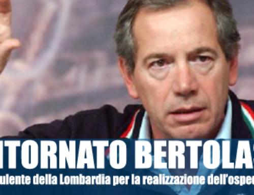 BENTORNATO BERTOLASO. L'ITALIA HA BISOGNO DI TE!