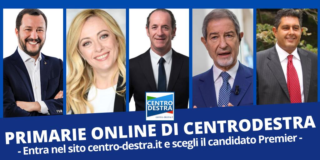 primarie online: vota il candidato premier