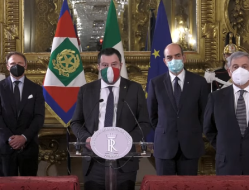 E' RIVOLTA SUI SOCIAL: IL CENTRODESTRA NON VUOLE MARIO DRAGHI