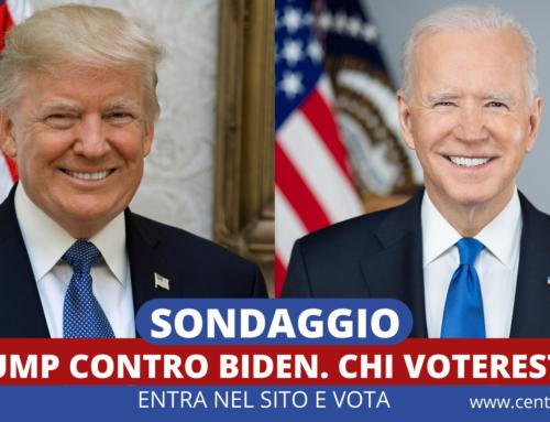 SONDAGGIO: TRUMP CONTRO BIDEN. OGGI CHI VOTERESTI?