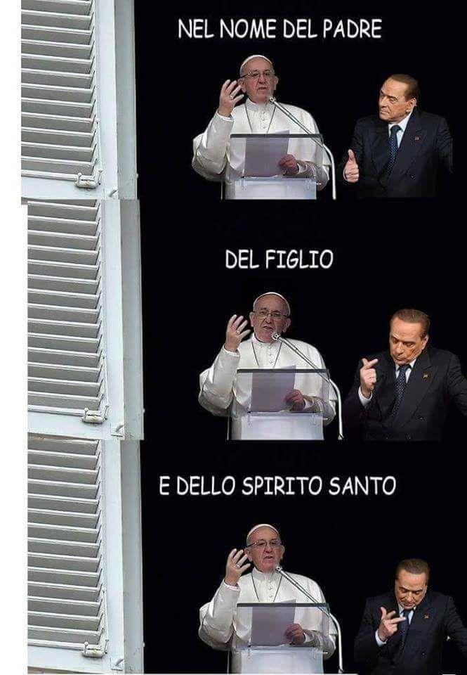 Berlusconi show al quirinale. L'ironia della rete