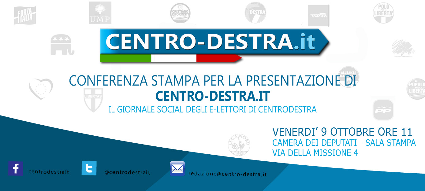 Venerdi 39 9 presenteremo centro destra it in conferenza for Rassegna stampa camera deputati