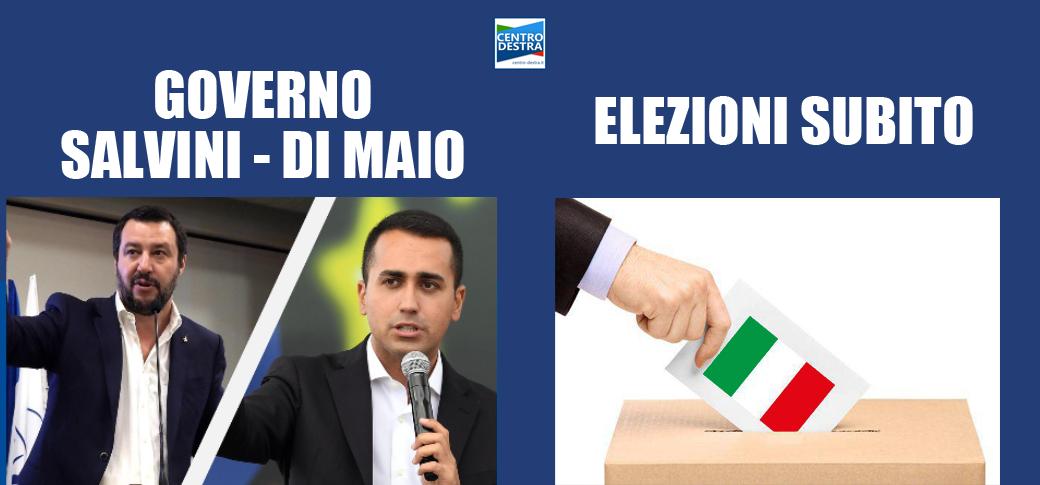 sondaggio: meglio un governo salvini - di maio o elezioni anticipate?
