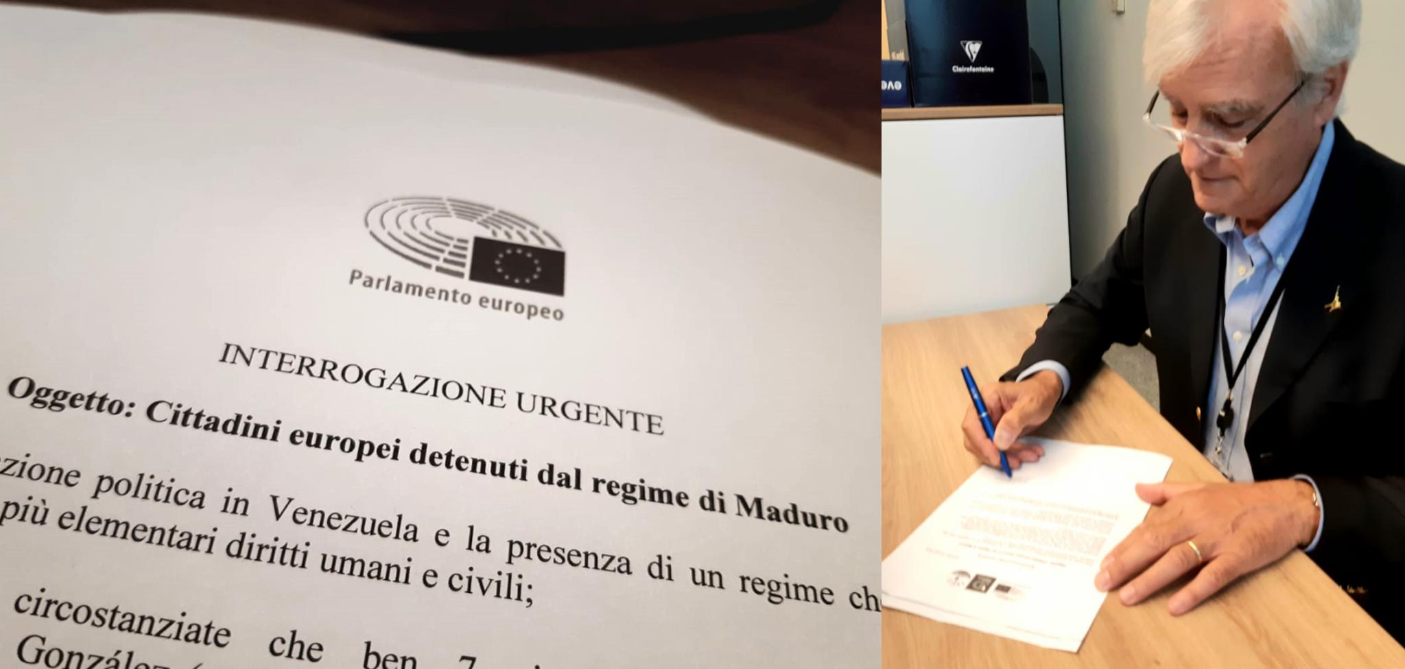 'L'EUROPA ALZI LA VOCE SUI PRIGIONIERI DI MADURO' – LA RICHIESTA DI ANTONIO RINALDI.