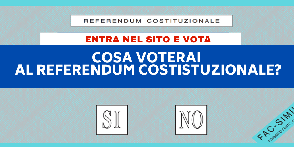sondaggi referendum costituzionale taglio dei parlamentari
